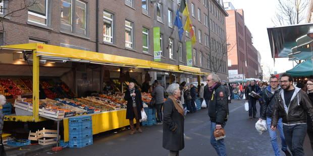 Namur: découvrez le nouveau look du marché hebdomadaire - La DH