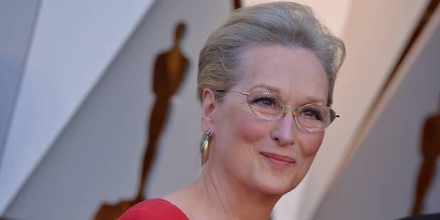 Oscars : Meryl Streep gentiment moquée pour sa robe - La DH