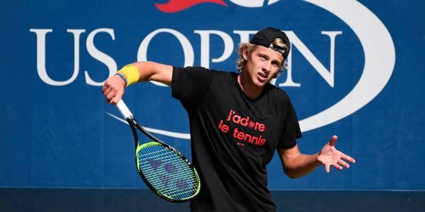 Un jeune joueur de tennis belge menacé de mort sur les réseaux sociaux - La DH