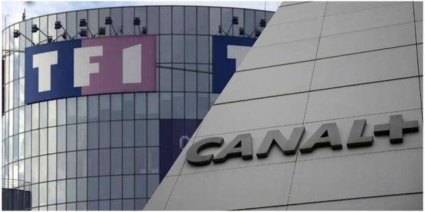 """Pour Canal+, il est """"hors de question"""" de remettre le signal de TF1 sans accord - La DH"""