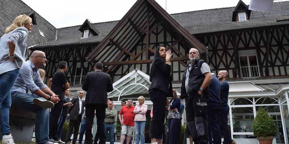 Le tribunal de commerce prononce la faillite — Château de Limelette