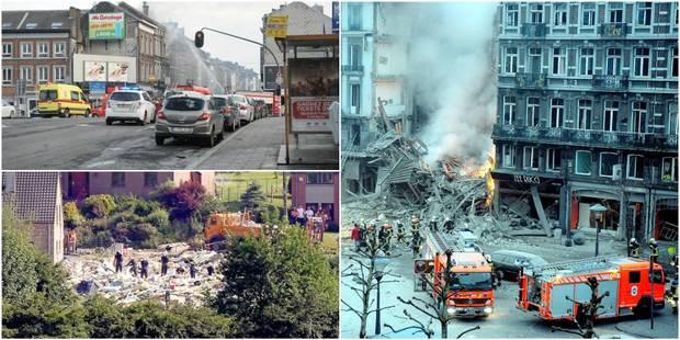 Rue Léopold, Bressoux et maintenant rue Grétry, ces explosions qui meurtrissent Liège - La DH