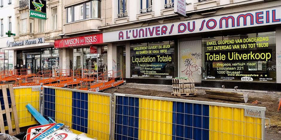 Le calvaire des commerçants de la chaussée d'Ixelles - La DH