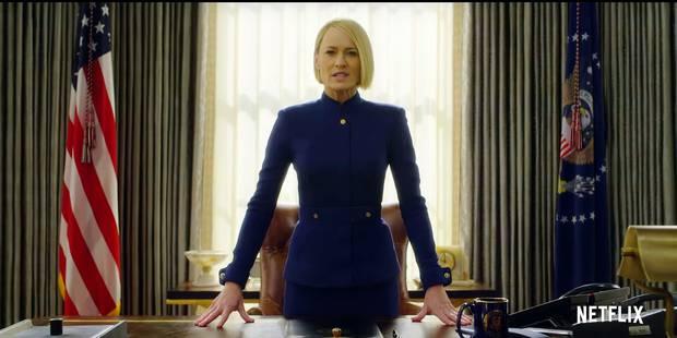 House of Cards : la première présidente des USA - La DH