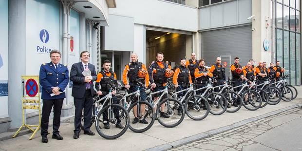 Liège : 16 nouveaux vélos pour les policiers du centre-ville ! - La DH