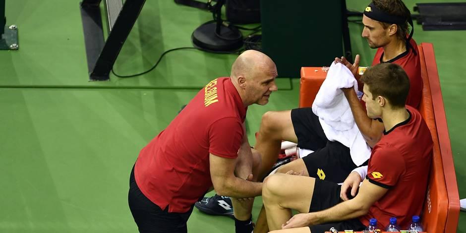 Coupe Davis: Des signes de tension dans notre équipe nationale - La DH