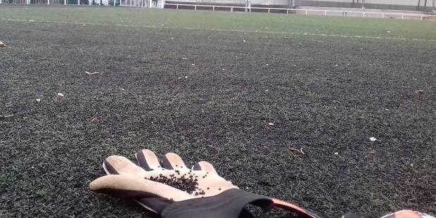 Ixelles : un terrain de foot potentiellement cancérigène - La DH
