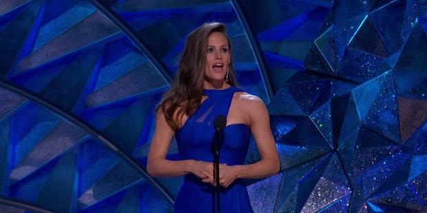 Après sa drôle de réaction aux Oscars, Jennifer Garner répond avec humour - La DH