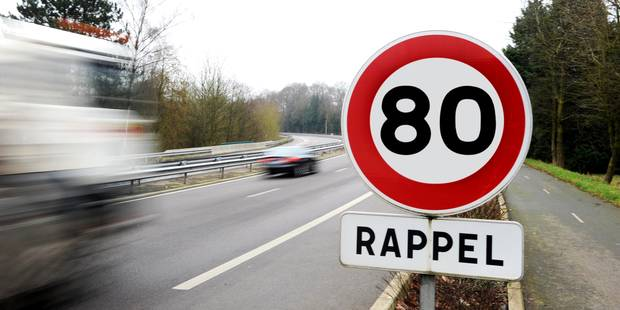 France: limitation à 80 km/h sur les routes secondaires dès le 1er juillet - La DH