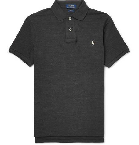 Polo Ralph Lauren, Slim-Fit Cotton-Piqué Polo Shirt,      95 euros.