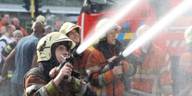 Forest : Incendie au Square Emile des Grées du Lou - La DH
