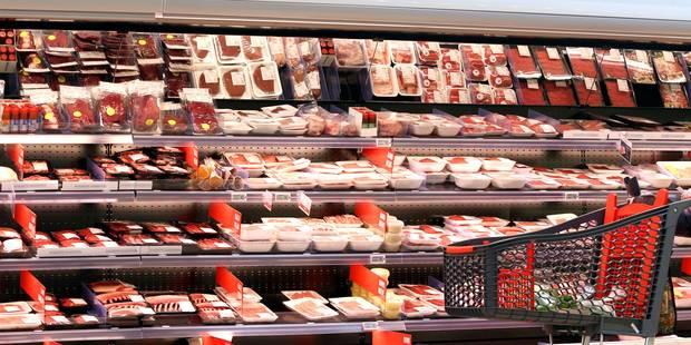 Scandale Veviba: les rayons des grandes surfaces bien approvisionnés en viande - La DH