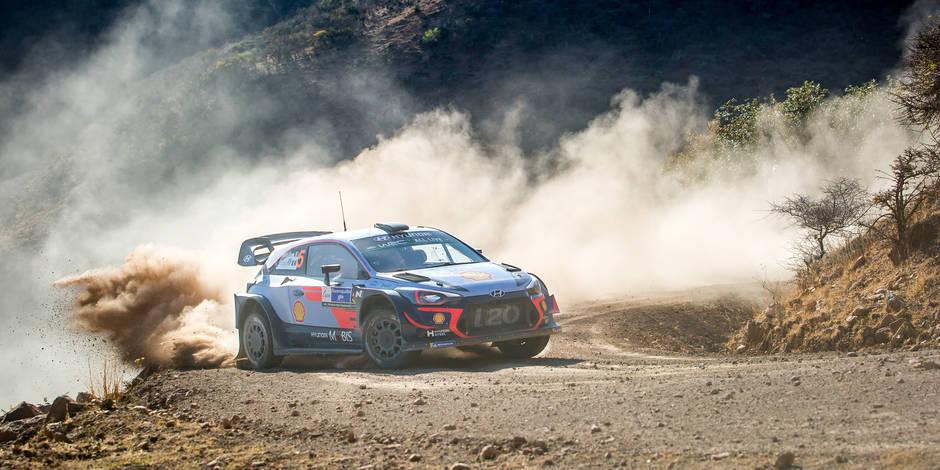 Sébastien Loeb vire en tête du classement général — Rallye du Mexique
