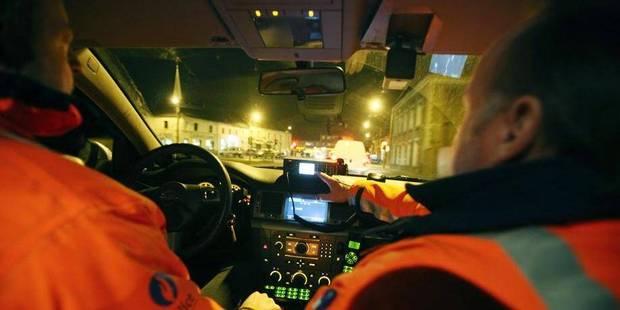 Borinage: ils se livraient à quelques courses de vitesse en pleine nuit - La DH