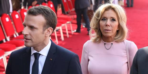 Dimanche romantique pour le couple Macron au Taj Mahal - La DH