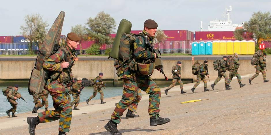 20% des militaires ratent leurs tests physiques - La DH