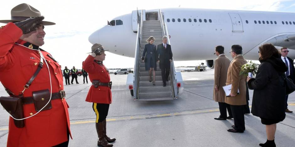 Le roi des Belges accueilli avec un drapeau… allemand — Canada