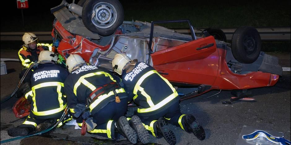 182 accidents de travail chez les pompiers-ambulanciers - La DH