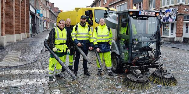 Ils travaillent dans l'ombre du carnaval de Tournai - La DH