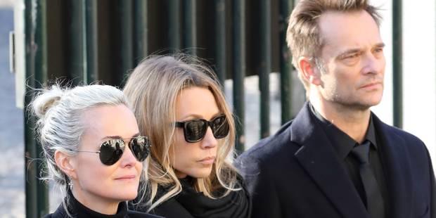 """Héritage de Johnny Hallyday: un testament de 2011 promettait des """"compensations d'ordre monétaire"""" à Laura et David - La..."""