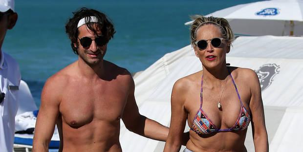 Sharon Stone : le bonheur pour ses 60 ans avec Angelo - La DH