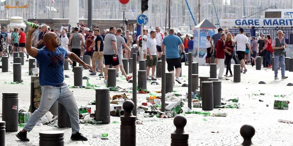 Un hooligan russe écroué à Marseille