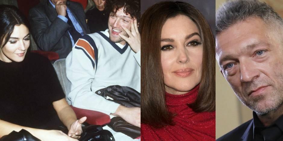 Monica Bellucci et Vincent Cassel en 1995. Ils se sont rencontrés sur le tournage du film L'Appartement. Après 14 ans de mariage, le coupe a annoncé sa rupture en 2013.