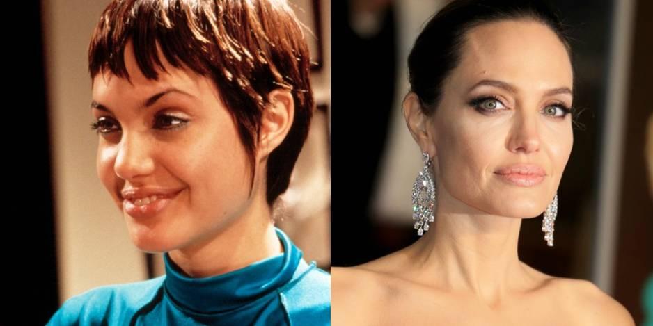 Angelina Jolie en 1995 dans le film Hackers. Elle avait 20 ans. Aujourd'hui, elle en a 45.