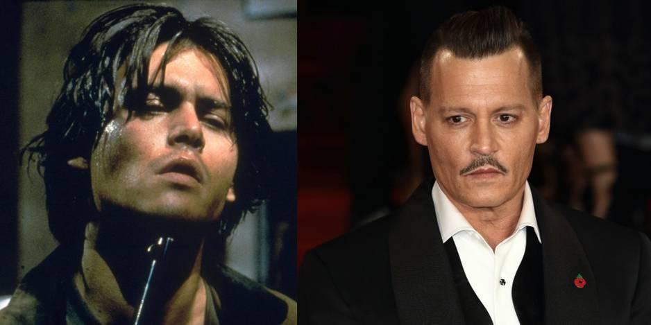 Johnny Depp dans Arizona Dream en 1993.