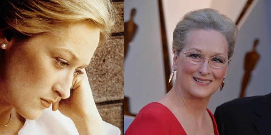 Meryl Streep en 1978 dans Voyage au bout de l'enfer. Elle avait 29 ans.