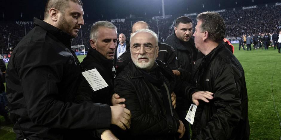Violences dans le football grec: la FIFA s'en mêle et envoie une délégation à Athènes