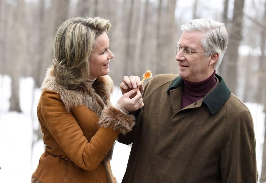 Au Richelieu Park Sugar Shack, pour déguster une sucette fraîchement préparée.