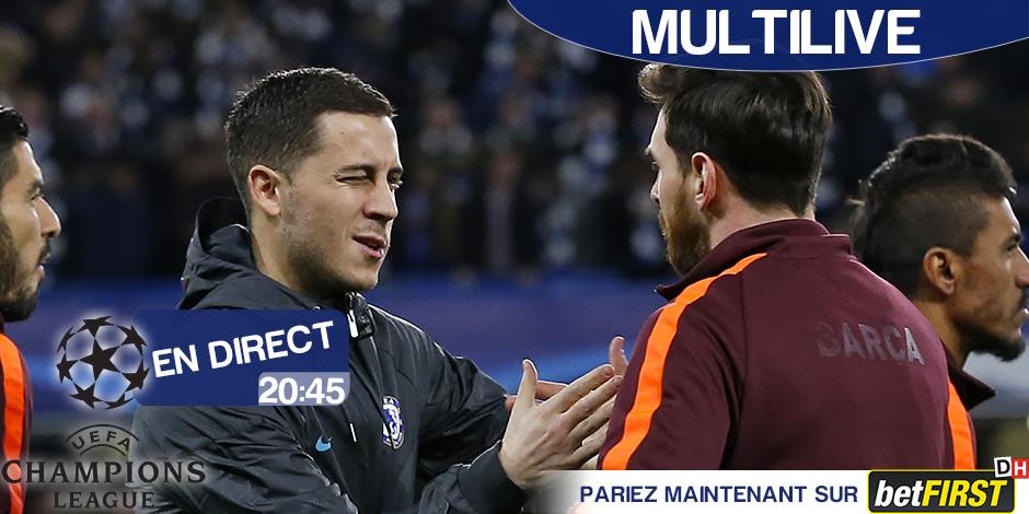 LDC, Conte s'attend à un match compliqué contre Barça — Chelsea