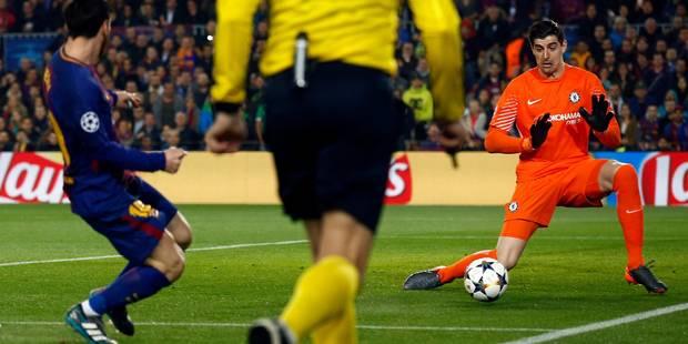 """""""Eurotùnel"""" ou quand Marca se paye la tête (ou les jambes) de Courtois - La DH"""