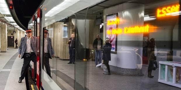 Heurt de personne en gare de Bruxelles-Central, trafic interrompu sur trois voies - La DH