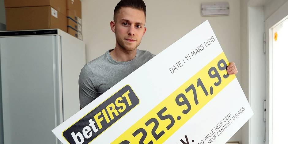 """Un parieur belge empoche 225.971,99€ sur betFIRST: """"J'ai suivi mon instinct"""""""