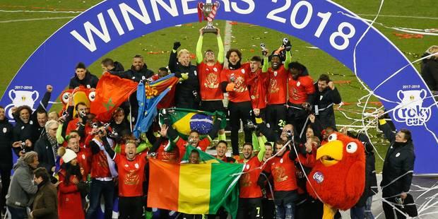 Emond offre une 8e Coupe de Belgique au Standard face à Genk (VIDEOS) - La DH