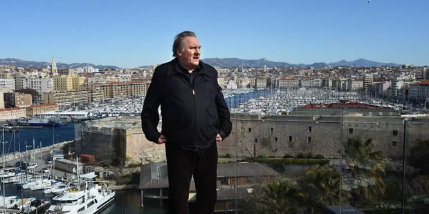 Election présidentielle russe: Gérard Depardieu a voté depuis Paris - La DH