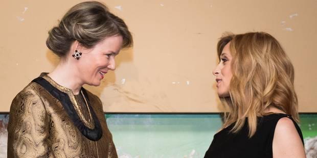 La reine Mathilde a rencontré Lara Fabian - La DH