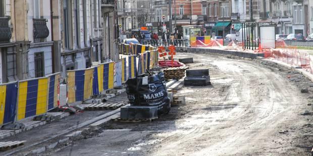 Ixelles : le chantier Général Jacques sera terminé deux mois plus tôt - La DH