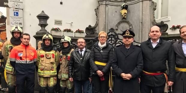 Le Manneken Pis habillé en pompier - La DH