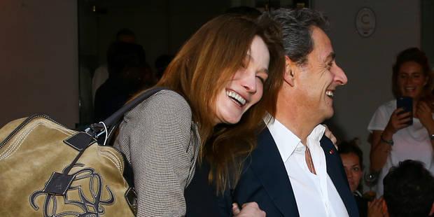 """Carla Bruni : """"Mon amour, comme tu es clair, comme tu es droit, comme tu es fort et comment tu restes debout..."""" - La DH"""