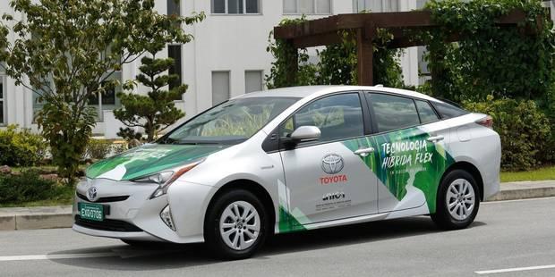 Une hybride qui peut rouler à l'essence comme au méthanol! - La DH