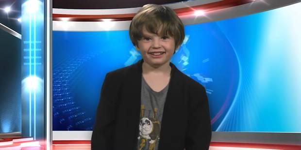 A 6 ans, il présente une fausse météo complètement déjantée - La DH