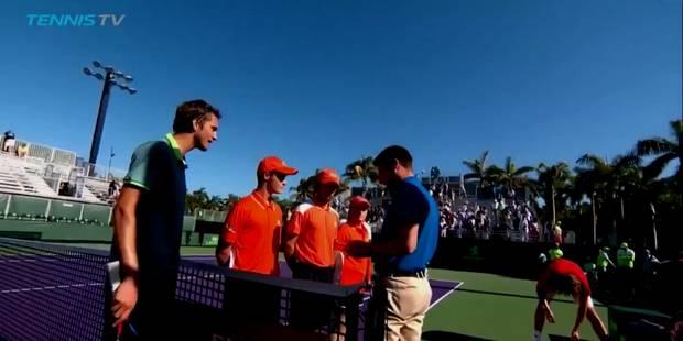 Tennis: Medvedev et Tsitsipas en viennent presque aux mains sur le court (VIDEO) - La DH