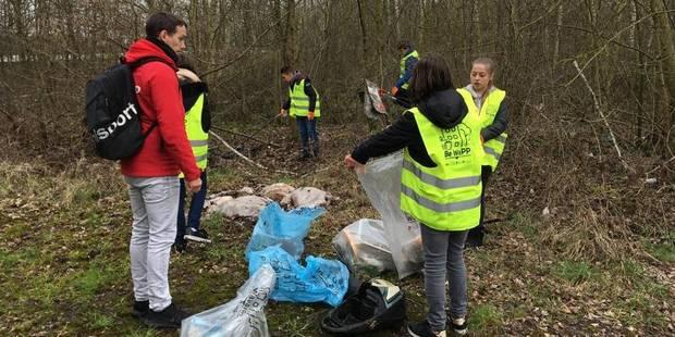 Châtelet: À l'assaut des déchets - La DH