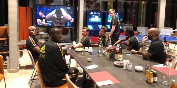 Quand les Diables rouges apportent leur soutien au boxeur belge Ryad Merhy - La DH