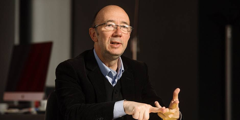 Bruxelles -Rudy Demotte (PS) Ministre-Président de la Fédération Wallonie-Bruxelles