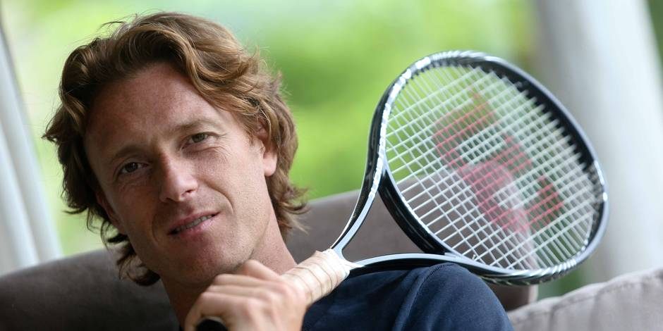Dick Norman, nouveau directeur du tournoi de tennis ATP d'Anvers