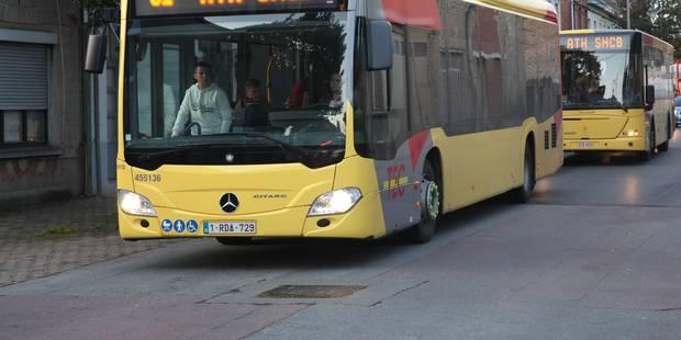 Neuf passagers en moyenne dans les bus wallons - La DH